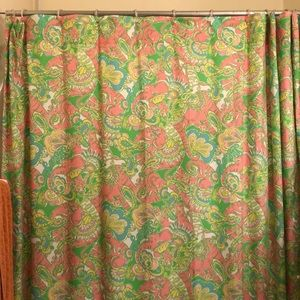 Lilly Pulitzer Shower Curtain in Chin Chin